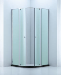 Built-in Space Sector Shape Shower Enclosure/Shower Cubicle (A-CVP048) pictures & photos