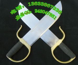 Wu Shu Weapon Wing Chun Double Butterfly Knife pictures & photos