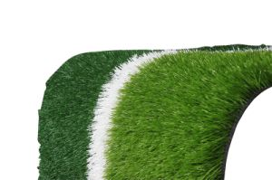 Soccer Field Grass, SGS, Ce Approved, Water Proof Thick Artificial Grass Football Field pictures & photos