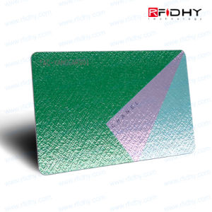 All Frequency Avaliable RFID Golden Metal Craft Membership VIP Card pictures & photos