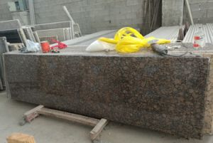 Stone Table Top Restaurant Bar Counter Conference Table Restaurant Tables pictures & photos