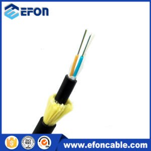 Kevlar Yarn 12 Core G652D Singlemode Fiber Optic Cable ADSS pictures & photos
