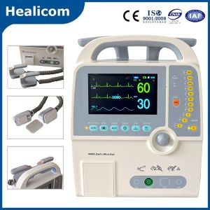 Hc-9000d Medical Equipment Portable Defibrillator with Ce ISO Certificate pictures & photos