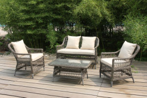 Wicker Rattan Lounge Sofa Set Garden Commercial Outdoor Furniture (FS-2795+FS-2796+FS-2797) pictures & photos