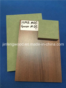 18mm Thickness Green Hmr MDF/ Moisture Resistant MDF/ Waterproof MDF pictures & photos