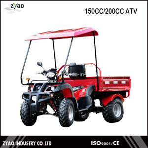150cc/200cc Newest Gy6 Engine Farm ATV/ Farm UTV with Reverse Gear Hot Sale (ZYA-13T-10) pictures & photos