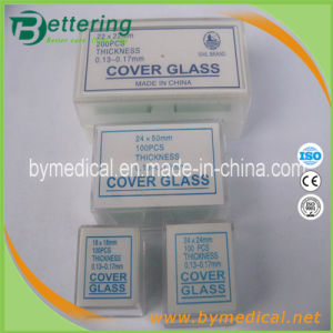 Medical Laboratory Microscope Cover Glass pictures & photos