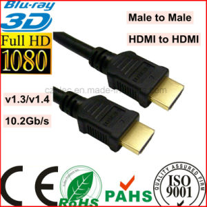 PVC Jacket Male HDMI to Male HDMI Cable (SY085) pictures & photos