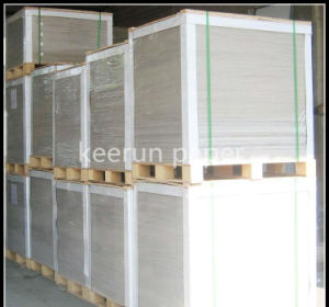230g High Quality One Side Coated Duplex Board Grey Back pictures & photos