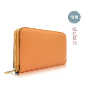 Zipper Closure, Simple But Elegant Design of Wallet for Ladies pictures & photos
