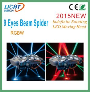Spider Moving Head 9 Eyes Beam Light LED pictures & photos