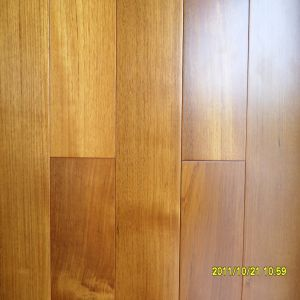 Factory Direct Supplying Strong Natureteak Solid Wood Flooring