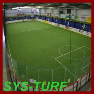 Indoor Football Pitch Synthetic Grass with Thiolon Fiber pictures & photos