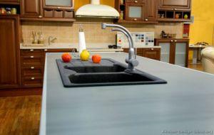 Golden Brown Kitchen Cabinet (GB4) pictures & photos