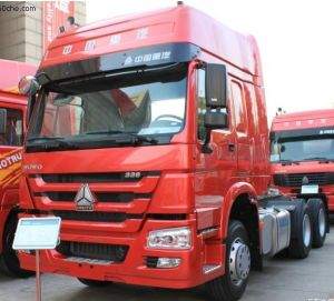 HOWO 6x2 Tractor Truck 266HP/196kw pictures & photos