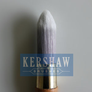 Round Brush (Paintbrush with Synthetic filament and beech wood, tip-round brush) pictures & photos