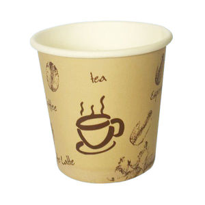 Customer Special Design for 4OZ Solo Single Wall Brown Paper Cup pictures & photos