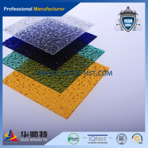 High Quality 100% Virign PC Diamond Embossed Sheet pictures & photos