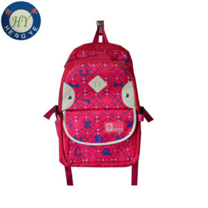 Girl Lovely School Book Travelling Backpack Bag