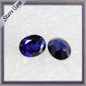 Luminous Exquisite Oval Brilliant Deep Blue Sapphire Corundum pictures & photos