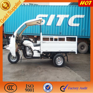 Semi Cabin & Doubel LED Lights for Open Cargo Tricycle pictures & photos