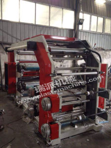 4 Color Plastic Bag Flexo Label Printing Press Machine pictures & photos