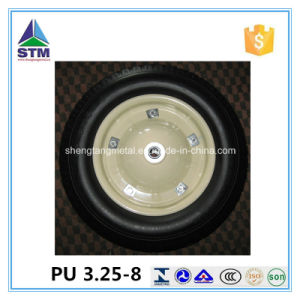 Polyurethane Flat Free PU Foam Wheel pictures & photos