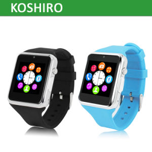 Intelligent Bluetooth Watch Mobile Phone with SIM Card Slot pictures & photos