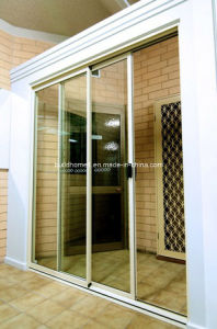 Supply Economic Prices Slim Aluminium Frame Sliding Doors pictures & photos