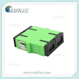 Sc Fibre Optic Adaptor (Faceplate, Rack Mount, Patch Panel) pictures & photos