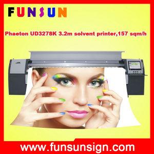 720dpi 510/50pl Heads Phaeton Ud3278k 3.2m/10FT Banner Solvent Printer 157 Sqm Per Hour pictures & photos