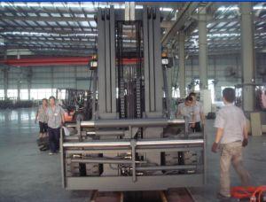 10.0t Diesel Forklift with Original Isuzu Engine with Duplex 5.0m Mast pictures & photos