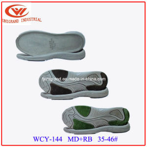 New Development Md+Rb Material Series Outsole Sandals Shoes Sole for Shoes Making pictures & photos