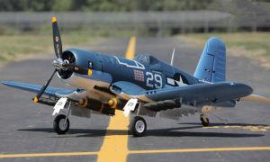 Hot Sale 3D Flying F4u Corsair Model Plane pictures & photos