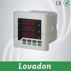 LED Digital Voltmeter 3 Phase Electric Voltage Meter pictures & photos