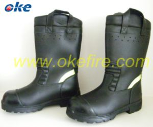 Leather Fire Boot