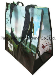 Competitive Price Advertising Laminated PP Nonwoven Shopping Bags pictures & photos