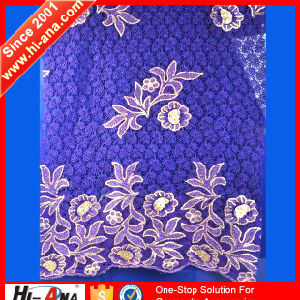 Cheap Price China Team Hot Sale Wedding Lace Fabric pictures & photos
