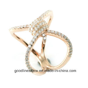 Fashion Jewelry Top Sale Trendy Design Sterling Silver Jewelry Ring (R10301) pictures & photos