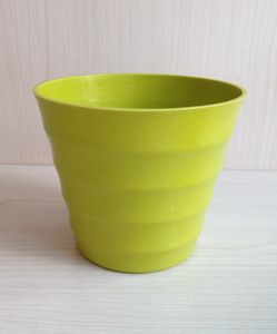 Eco Bamboo Fiber Flower Pot (BC-F1014) pictures & photos