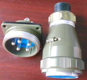Rain Proof Thread Coupling Yd48 Series Connectors pictures & photos