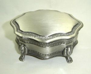 10X8.5X4.9cm China Jewelry Set Box, Metal Jewelry Box pictures & photos