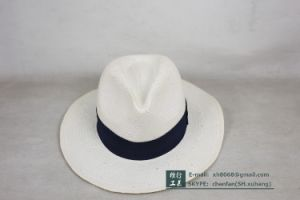 Fedora Paper Straw Hat (XH-PA2110) pictures & photos