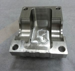 CNC Machining Aluminum Block with Surface Brushining pictures & photos