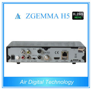 H. 265 Decoder DVB S2 + DVB T2 DVB C Zgemma H5 pictures & photos