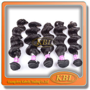 Loose Weaving Brazilian 100 Percent Hair Weft pictures & photos