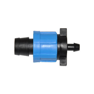 Garden Drip Irrigation PVC Connector Fitting for Drip Tape pictures & photos