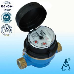 Single Jet Dry Type Vane Wheel Water Meter (LXSC-13D8b) pictures & photos