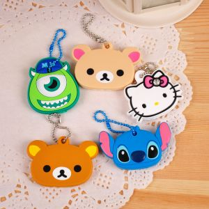 Cute Cartoon Silicone Key Chain for Promotion pictures & photos