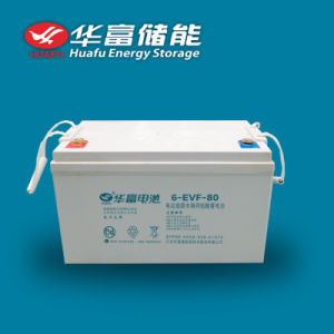 12V80ah EV Use Maintenance Free Lead-Acid Battery pictures & photos